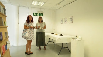 The Act of Eating Cake with Friends, 201, a day exhibition & event